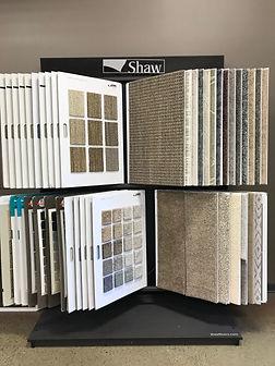 Shaw Carpet Display