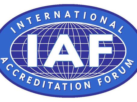 Softmanin CIPP/E sertifioinnille IAF akkreditointi