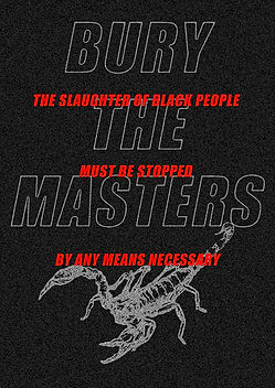 BURY THE MASTERS: The beginning of the rest of your life