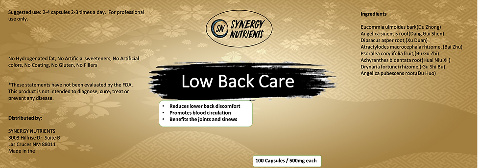 Low Back Care