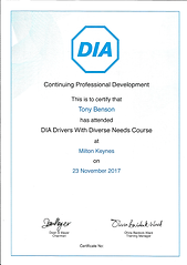 Drivers with Diverse Needs - November 20
