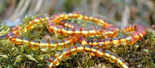 Bracelets en Ambre Baltique Miel