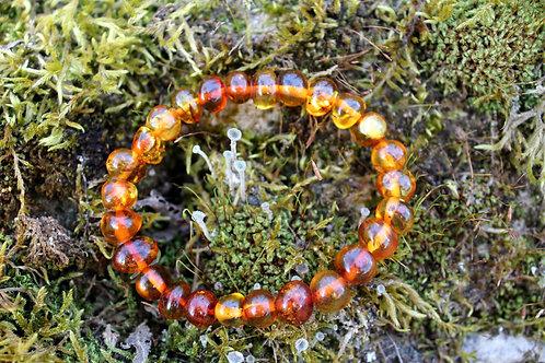 Bracelets en Ambre Baltique Cognac