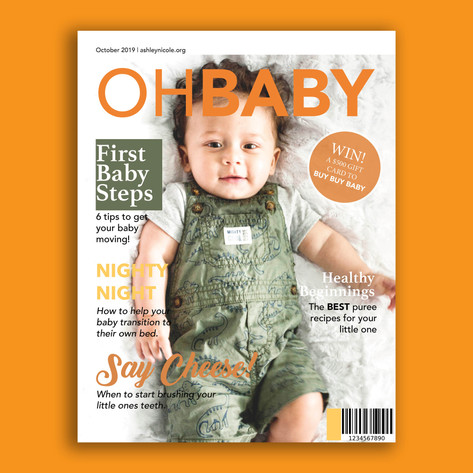 Baby Magazine Sample Cover