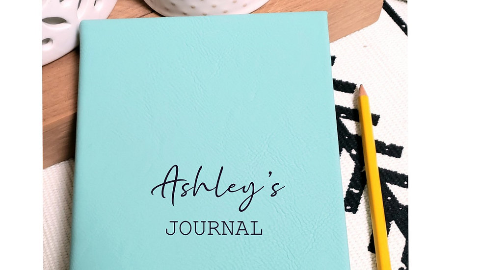 Personalized Journal/Notebook