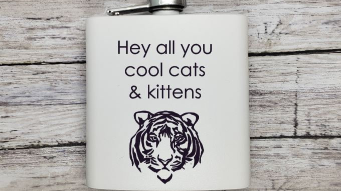 Hey all you cool cats & kittens Tiger King- Leather or Powder coat finish