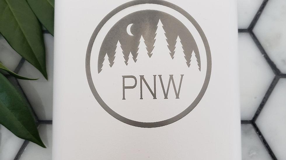 PNW trees- Leather or Powder coat finish