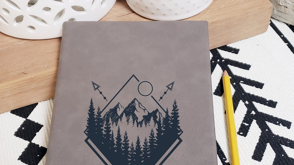 Geometric Mountains Journal/Notebook