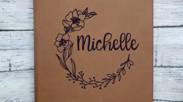 Journal-Flower Wreath Journal