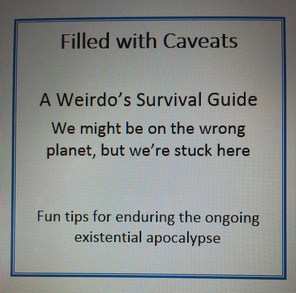 Filled with Caveats - Installment #2