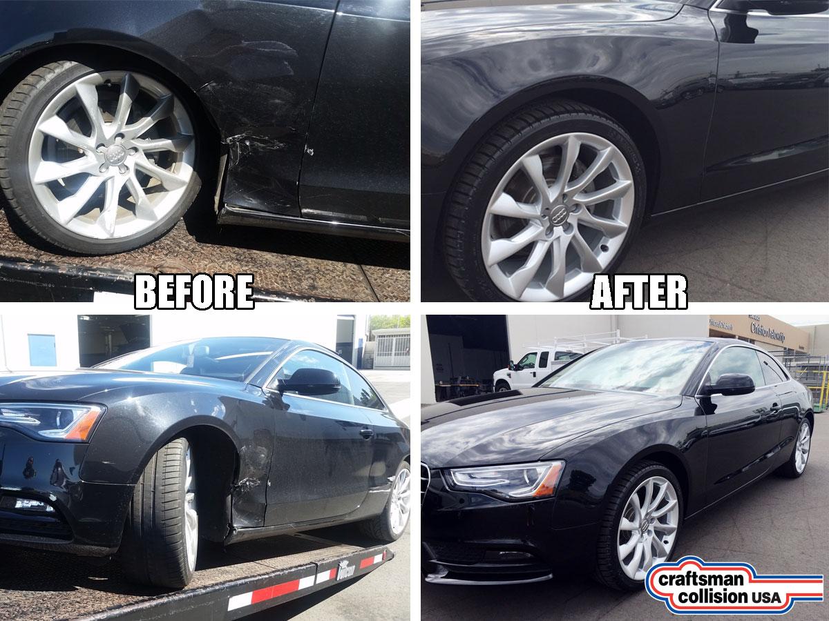 2013 Audi A5 Auto body repair