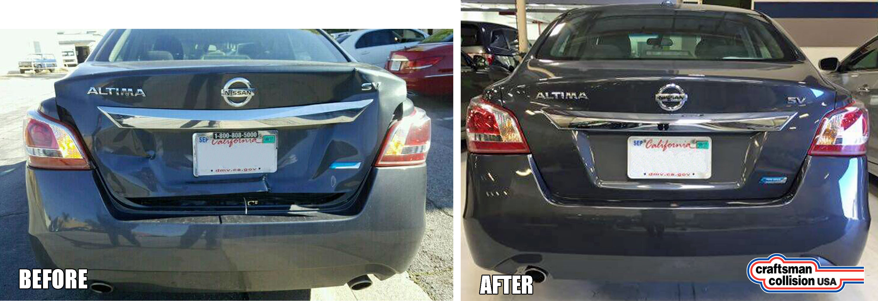 Nissan Altima auto body repairs
