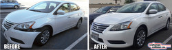 Nissan-Sentra-collision-repair