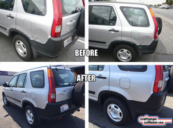 Honda CRV body repair