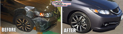 2015 Honda Civic auto body repair