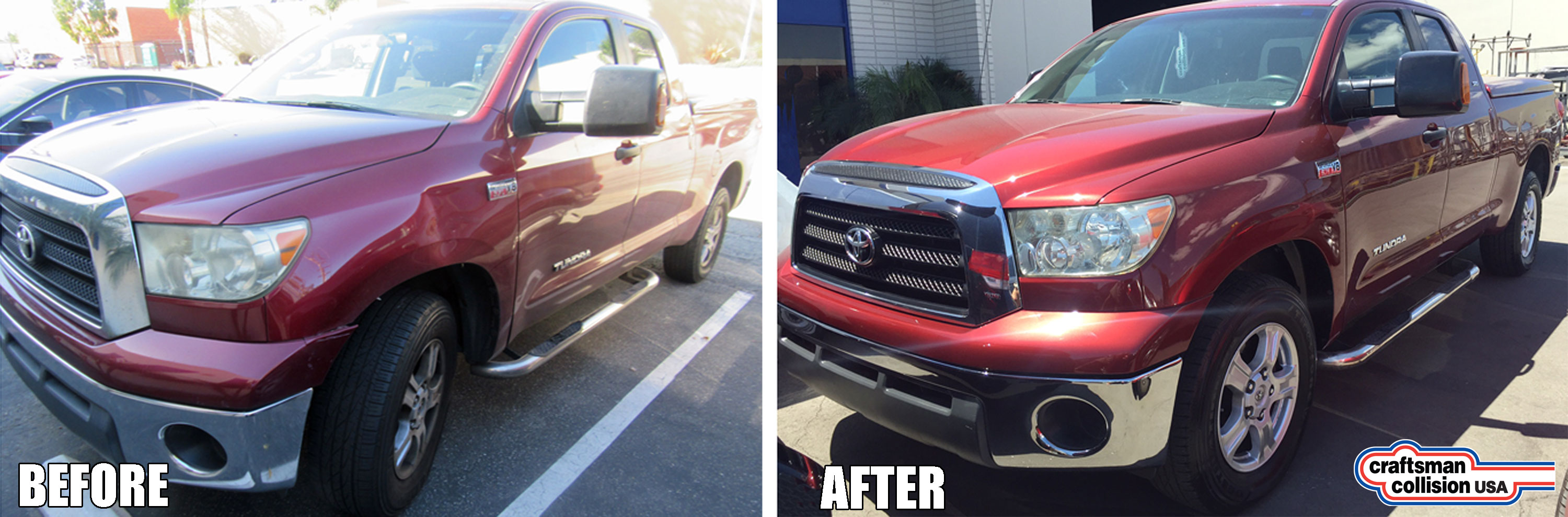 Toyota Tundra fender repair