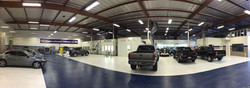 Craftsman Collision USA paint shop