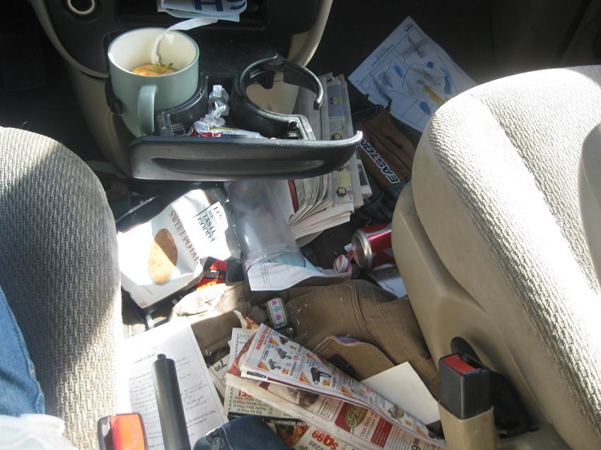 auto detailing car wash messy car