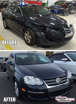 VW Jetta front end repair