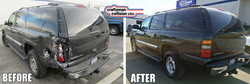 Yukon XL body repair