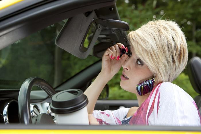 Distracted driving causes collisions