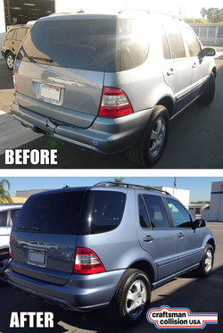2004 Mercedes collision repair