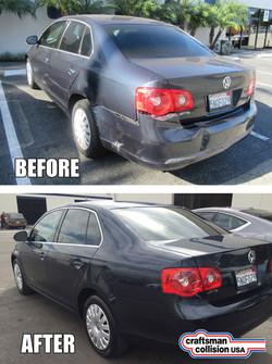 2005 Jetta auto body repairs
