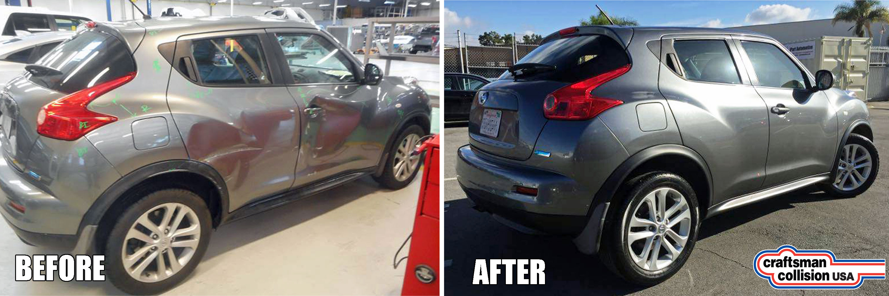 Nissan Juke Auto Body Repair