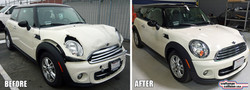 Mini Cooper collision repair