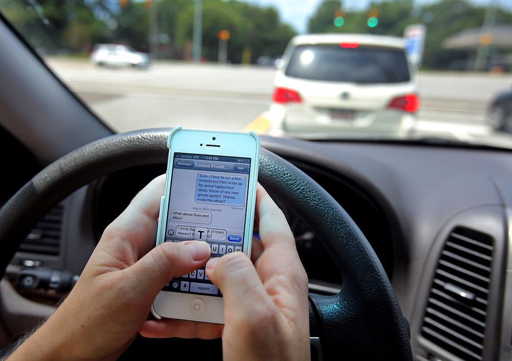 texting collision repairs
