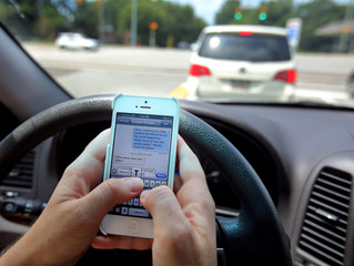 Texting a major cause of collisions