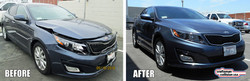 Kia Optima auto body repair