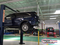 Auto body shop mechanical repairs