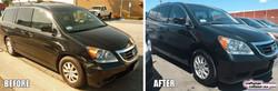 Honda Odyssey bumper repair