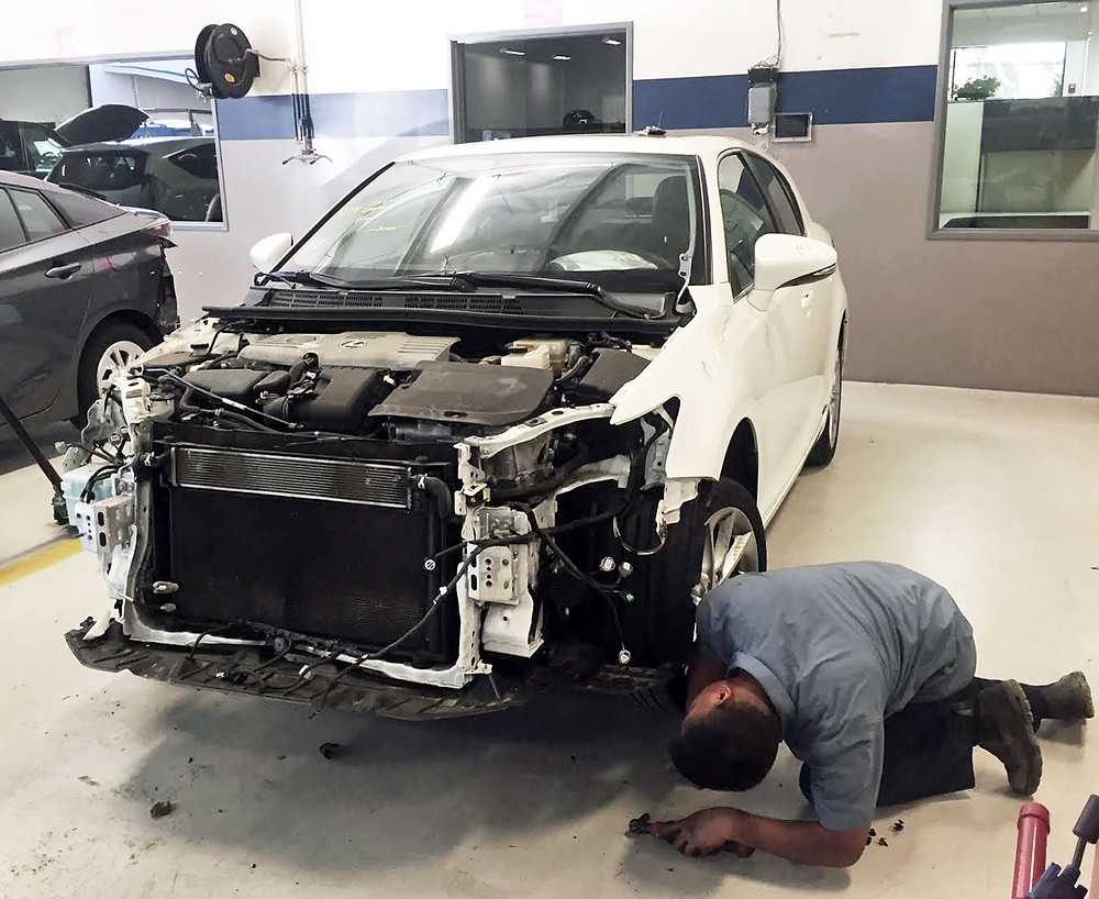 Auto Body Long Beach Lexus Repair