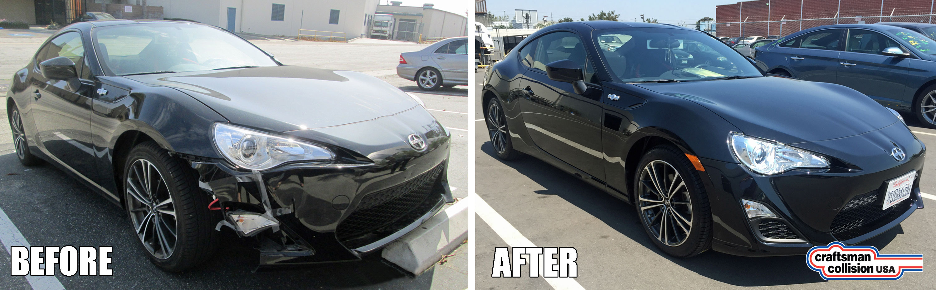 Scion Front Corner Repair