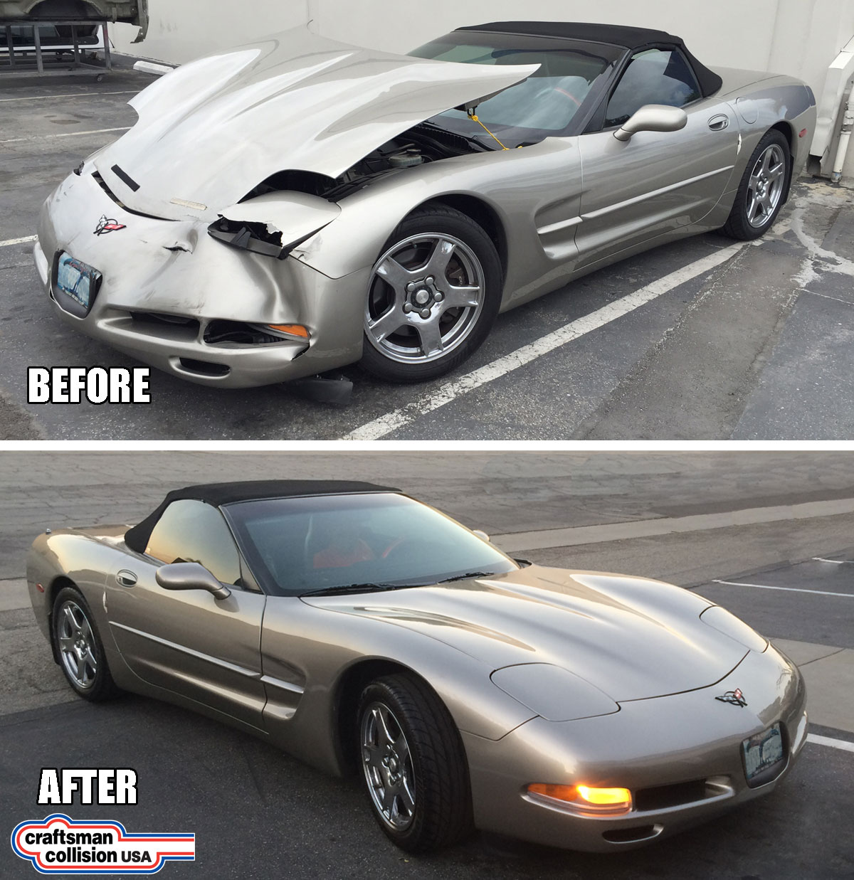 Corvette Collision repairs