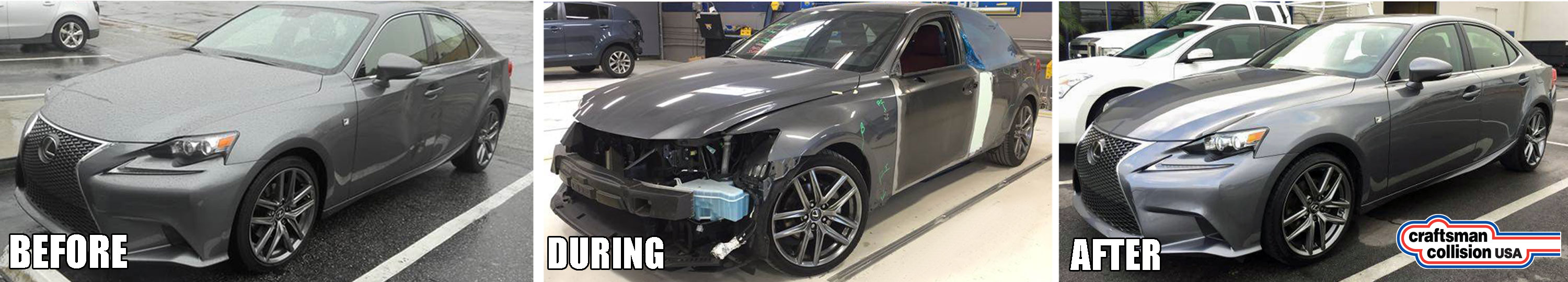 Lexus auto body repairs