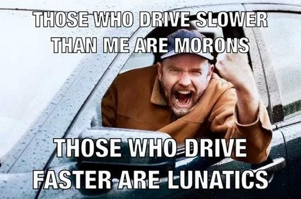 road rage and bad drivers