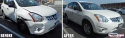 Nissan Rogue collision repairs