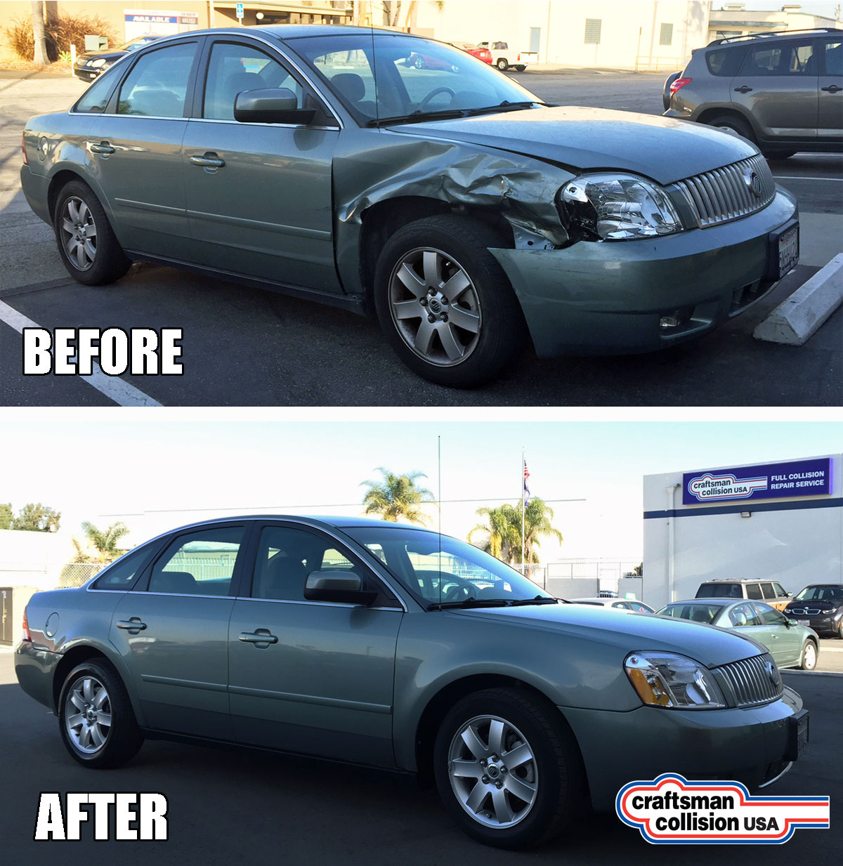 2006 Mercury collision repair