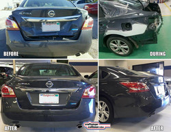 Nissan Altima auto body repair