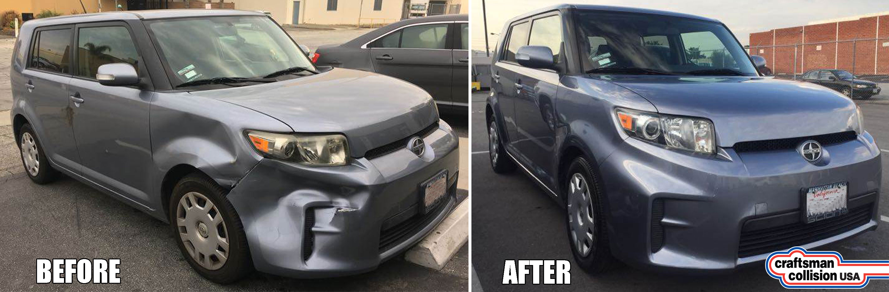 Scion XB body repairs