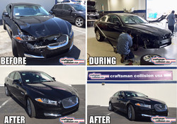 2014 Jaguar XF Collision repair