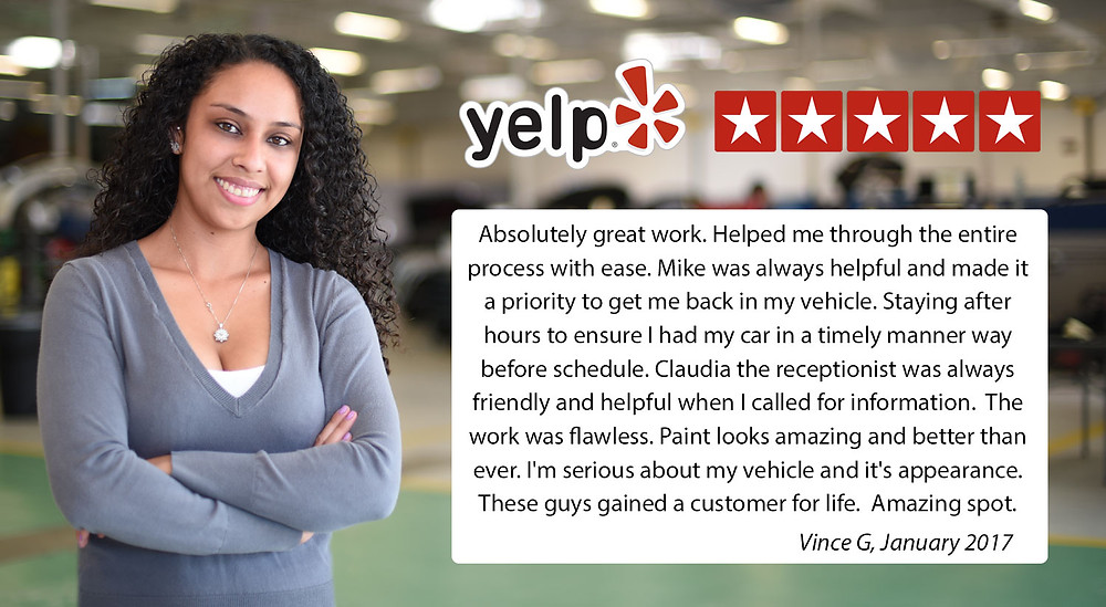Yelp review auto body long beach ca