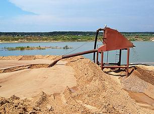 Купить песок намывной Пенза. СК Гранит