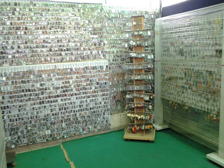 Largest collection of photo frame key rings