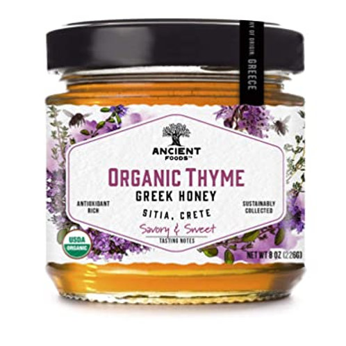 Organic Thyme Greek Honey