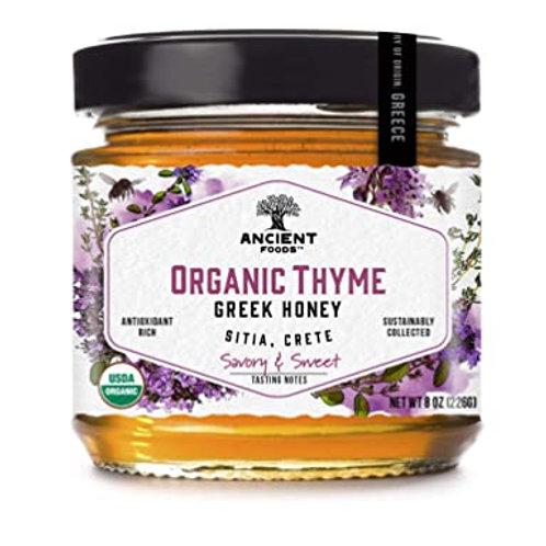 Organic Thyme Greek Honey