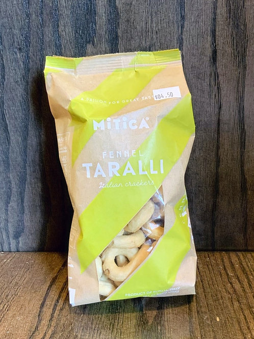 Taralli - Fennel